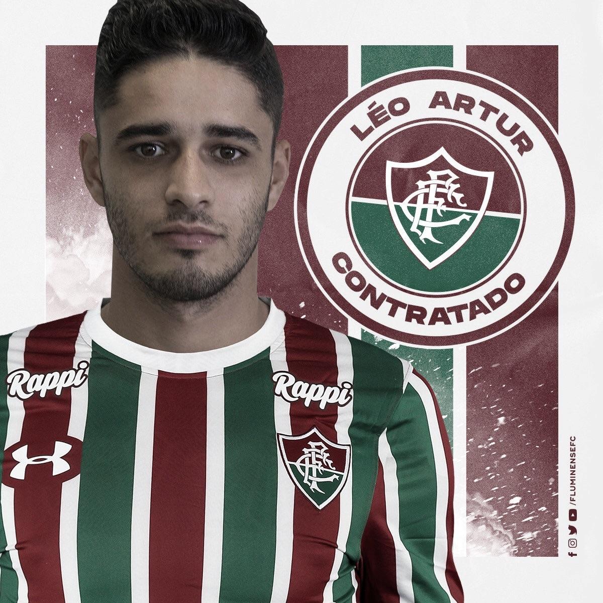 Fluminense acerta contratação do meia Léo Artur, ex-Ferroviária