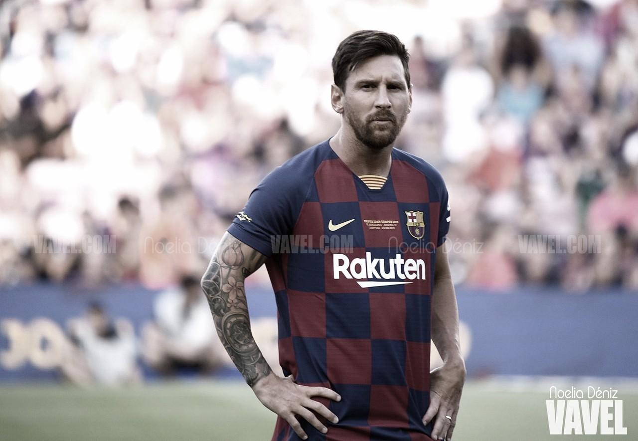Messi, mejor jugador de La Liga en febrero