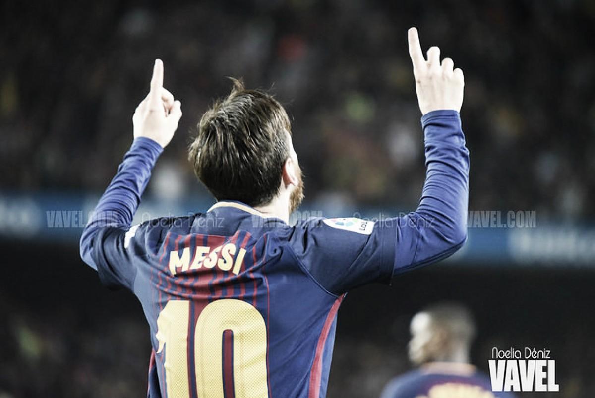 Leo Messi, premio Aldo Rovira 2017-18