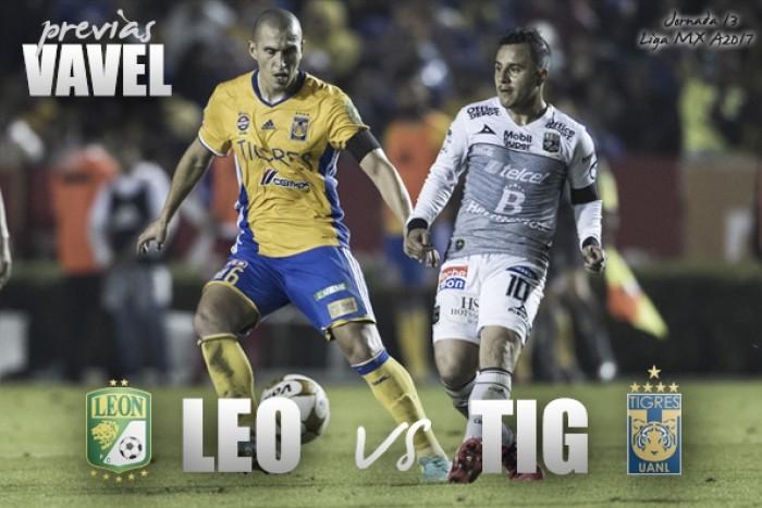 Previa León - Tigres: por los puestos más altos