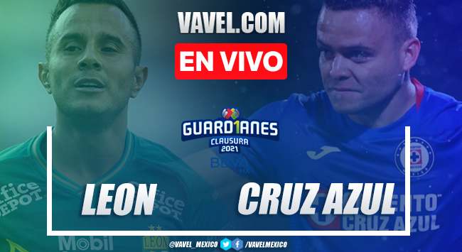 Gol y Resumen del León 0-1 Cruz Azul en Jornada 8 de la Liga MX 2021