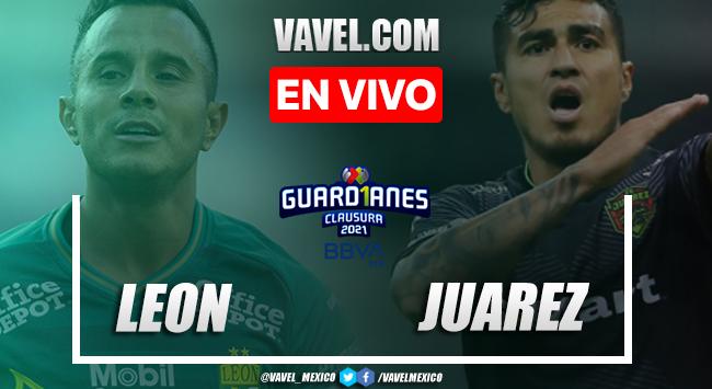 Resumen y goles: León 2-0 Juárez en Jornada 15 de la Liga MX Guard1anes 2021