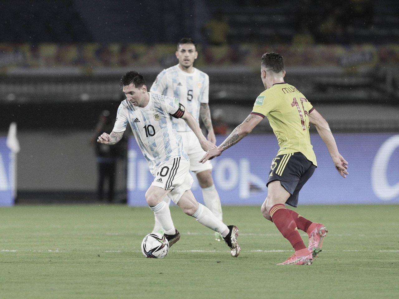 En el final, Colombia amargó a la Argentina