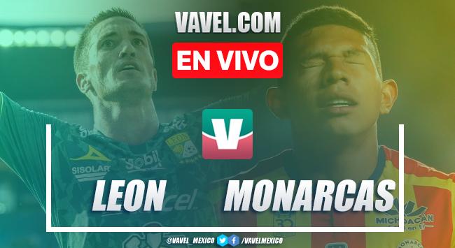 Resumen y video goles León 1-1 Monarcas Morelia en Apertura 2019