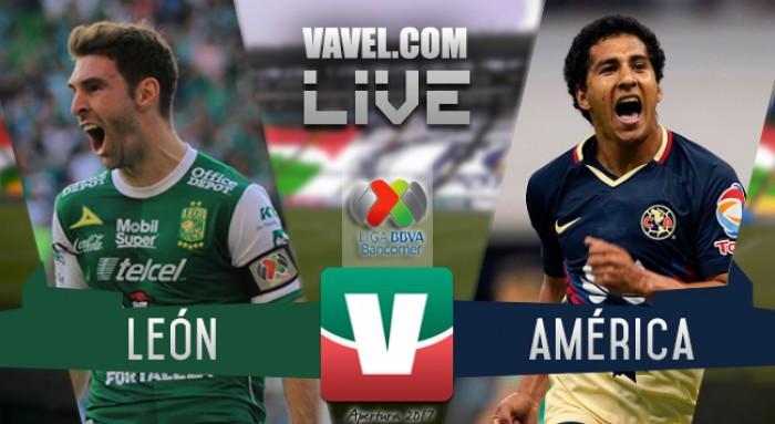 Resultado y goles del León 2-1 América de la Liga MX 2017