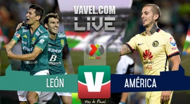 Resultado León vs América en Liguilla Apertura 2015 (2-1)