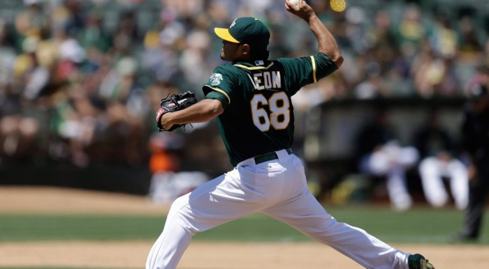 Toronto Blue Jays Acquire Arnold Leon From Oakland Athletics