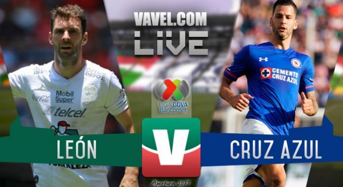 Resultado y goles del León 2-2 Cruz Azul de la Liga MX 2017
