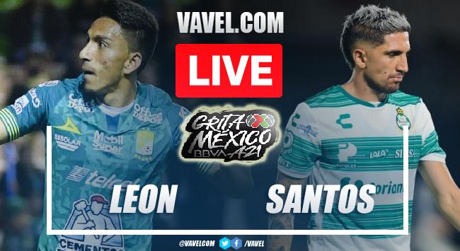 Goals and Highlights: Leon 1-1 Santos in Liga MX 2021
