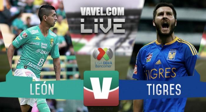 Tigres pierde el invicto frente al León