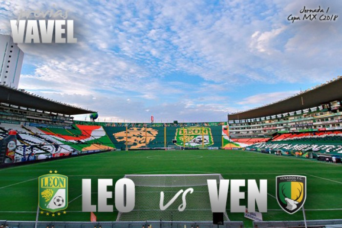 Previa León - Venados: por las primeras unidades en Copa