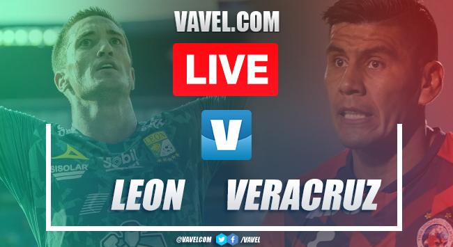 Goals and Highlights: Leon 1-1 Veracruz , 2019 Liga MX
