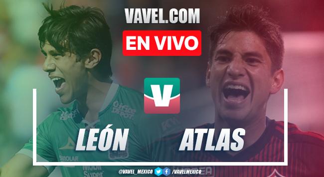 Resumen y goles León 1-1 Atlas en Apertura 2019 Liga MX