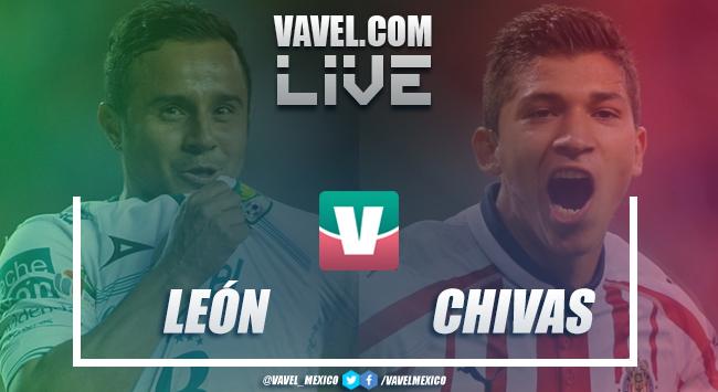 Resumen y goles del León 0-1 Chivas en Liga MX 2018