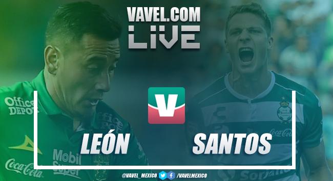 Resultado y goles del León 3-0 Santos en Liga MX 2019
