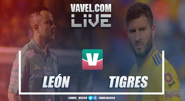León vs Tigres EN VIVO en Liga MX (0-0)