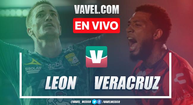 Goles y resumen León 1-1 Veracruz en Liga MX 2019