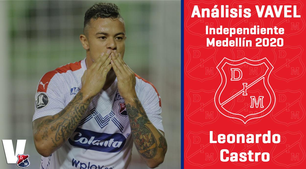 Análisis VAVEL, Independiente Medellín 2020: Leonardo Castro