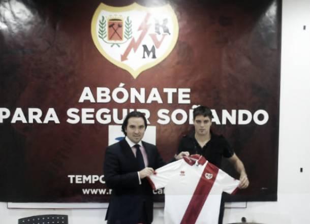 Leonel Galeano, presentado como jugador del Rayo Vallecano