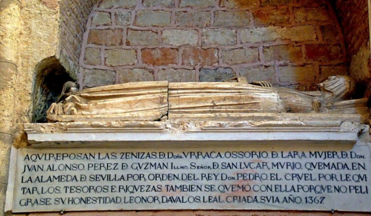 Leonor Dávalos, la sirvienta que ardió en la hoguera por bajar una falda