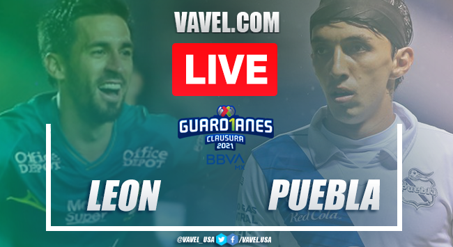 Goals and Highlights on Leon 1-2 Puebla match of the Guard1anes 2021