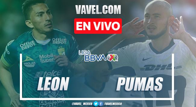 Resumen y goles: León 3-1 Pumas en Liga MX 2020