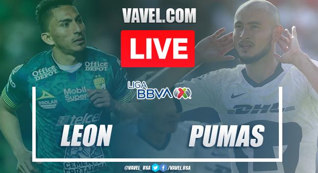 Goals and Highlights:León 3-1 Pumas in Liga MX 2020