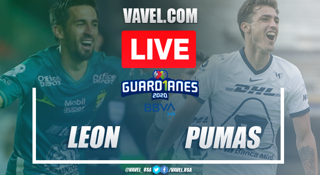 Highlights and Goals of the León 2-0 Pumas on the matchday 11, Guard1anes 2020