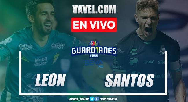 Goles y resumen del León 2-1 Santos en la jornada 16 del Guard1anes 2020