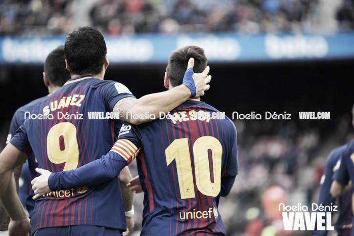 Barça-Depor, sinónimo de goles