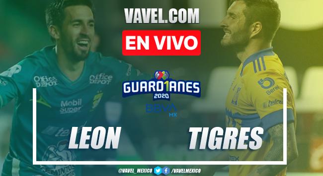 Goles y resumen: León 1-1 Tigres en Liga MX Guard1anes 2020