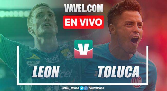 Resumen y video goles: León 4-0 Toluca en Liga MX 2019