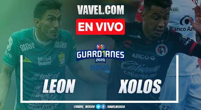 León 2-1 Xolos Tijuana: Goles y resumen del partido Liga MX 2020