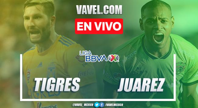 Goles y resumen del Tigres 3-2 FC Juárez en Liga MX 2020
