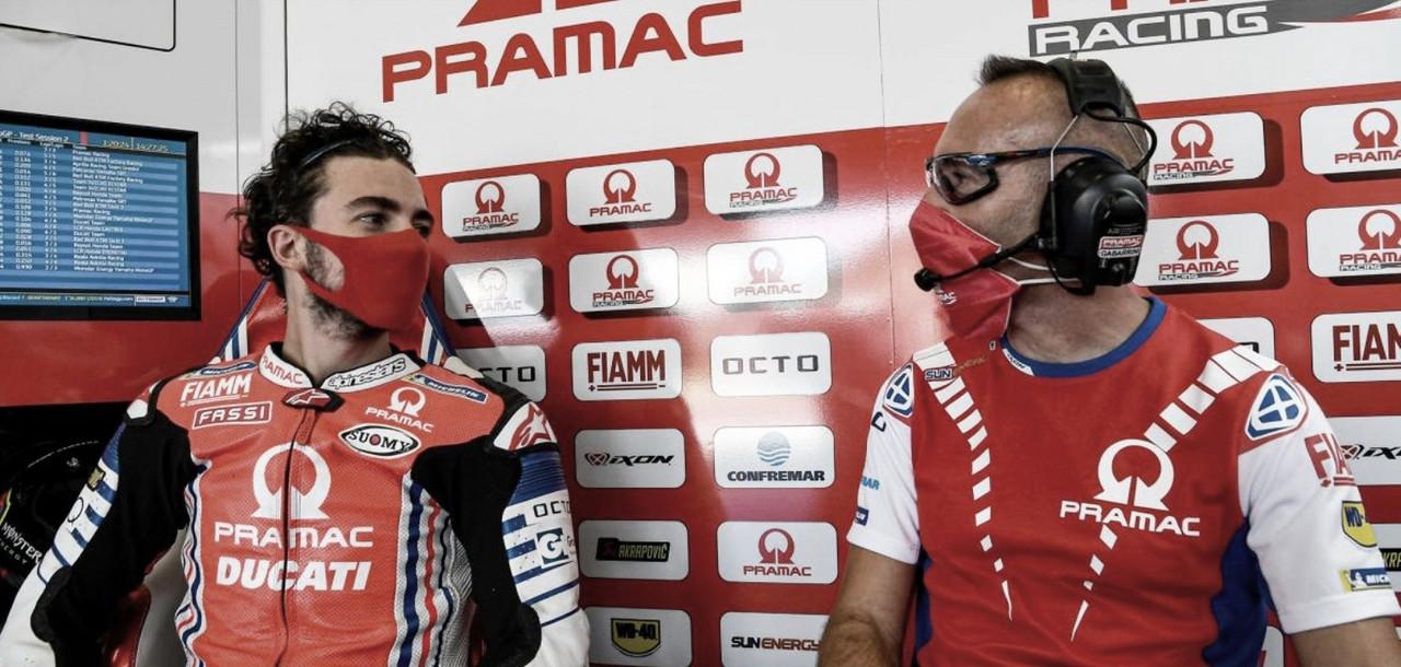 Bagnaia se perderá Brno y el GP de Austria, será sustituido por Pirro