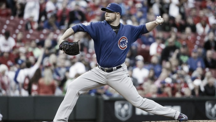 Anthony Rizzo and Javier Baez go yard in Chicago Cubs 8-1 win over the Cincinnati Reds