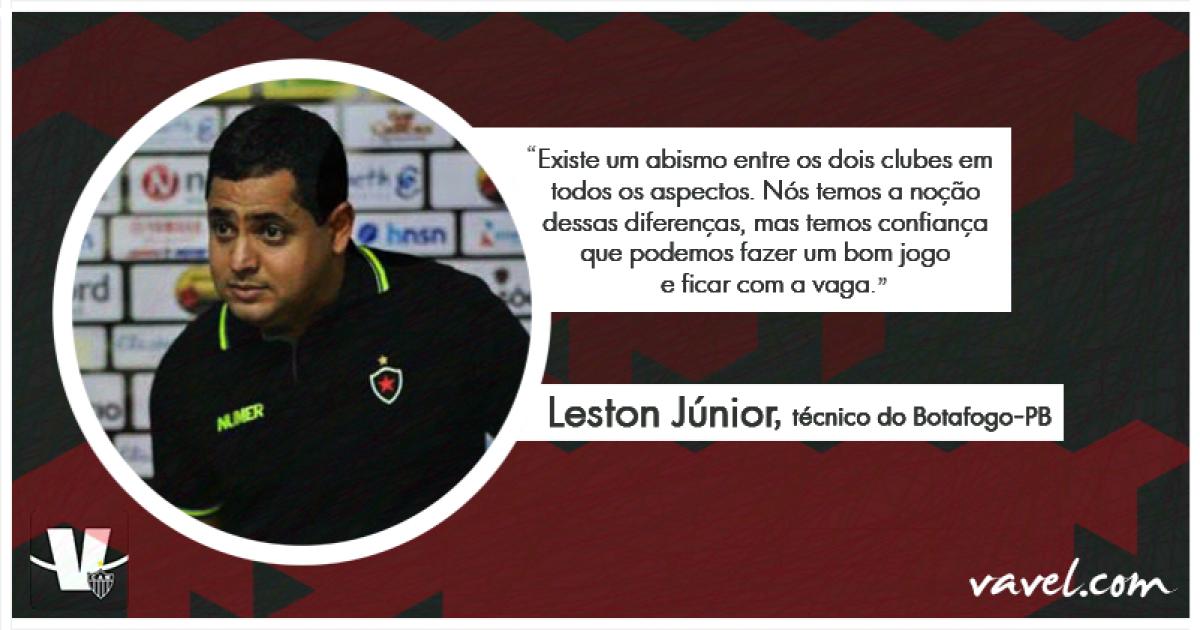 53337277b3 Entrevista  técnico do Botafogo-PB projeta duelo contra Atlético-MG e  elogia