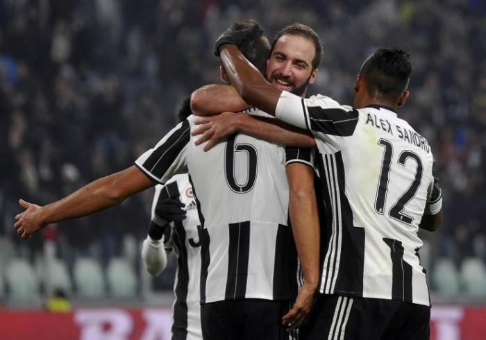 Juve-Dinamo Zagabria: vittoria da primi del girone. Gonzalo ritorna al gol