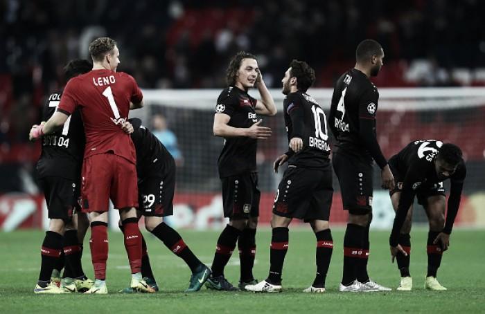 Com gol de Kampl, Leverkusen bate Tottenham fora de casa e respira no Grupo E