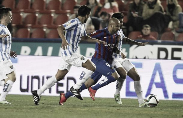 Levante vs Málaga en vivo y en directo online