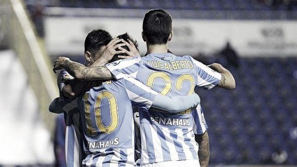 El Málaga pasa a cuartos a pesar de un final desastroso