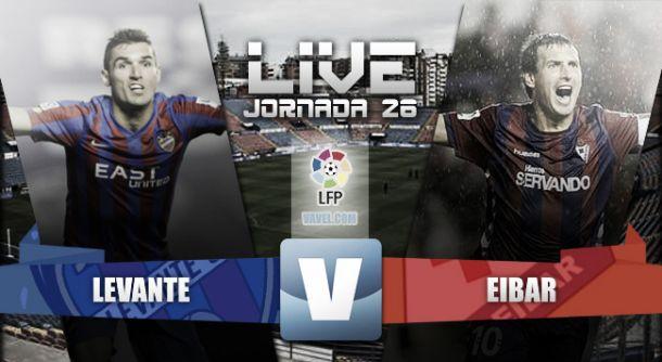 Resultado Levante vs Eibar en directo online y en vivo (0-0)