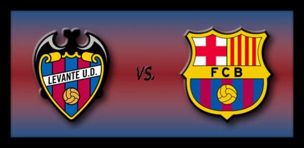 Live Levante - Barcelone, le match en direct
