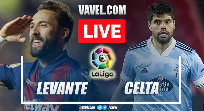Goals and Highlights: Levante 0-2 Celta de Vigo in LaLiga 2021