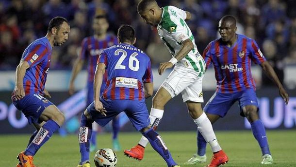 Levante - Córdoba: puntuaciones del Córdoba, jornada 34 de Liga BBVA