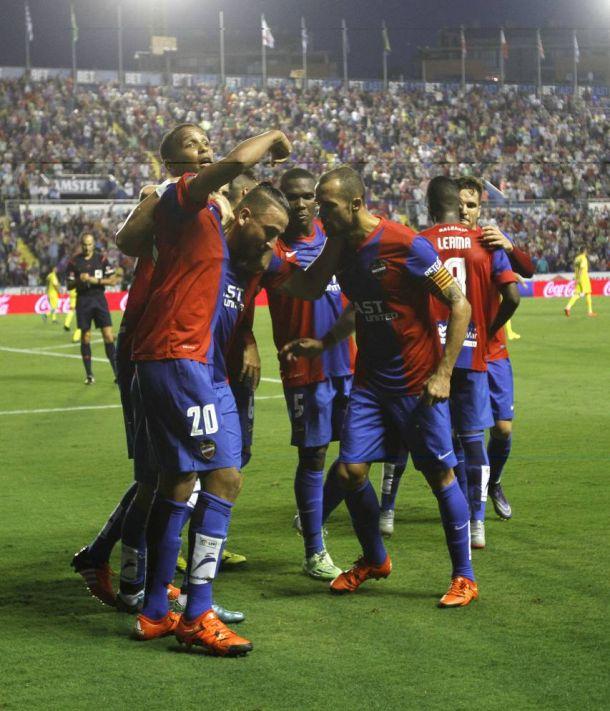 Levante - Villarreal: puntuaciones del Levante, jornada 7 de la Liga BBVA