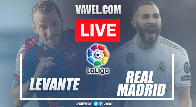 Goals and Highlights: Levante 3-3 Real Madrid in LaLiga