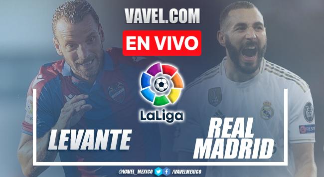 Goles y resumen del Levante 3-3 Real Madrid en LaLiga 2021