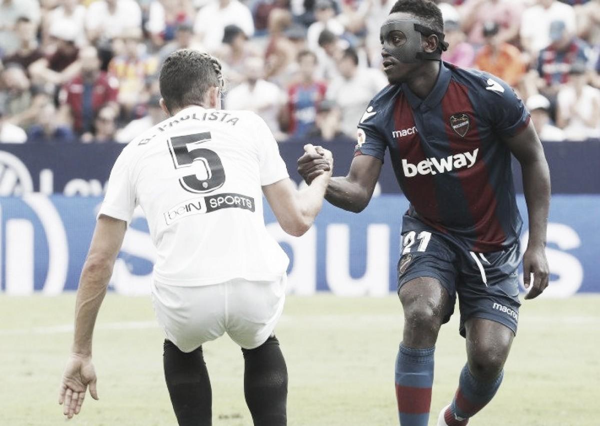 Levante e Valencia empatam em clássico disputado pela La Liga