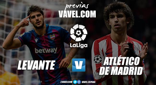 Previa Levante - Atlético de Madrid: la lucha de los rojiblancos por mantener el tercer puesto